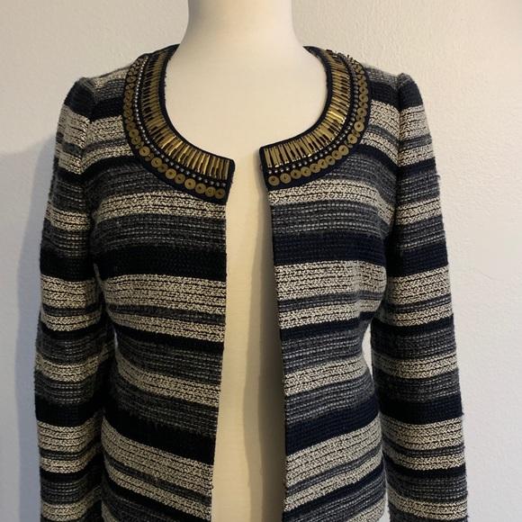 Banana Republic Jackets & Blazers - Tweed jacket with beautiful golden details